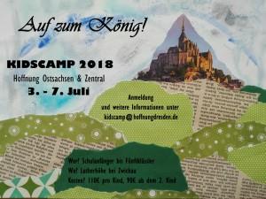 Flyer Kidscamp 2018